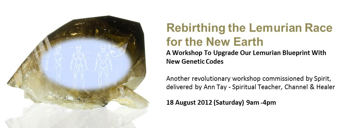 Rebirthing The Lemurian Race For The New Earth, 18 August