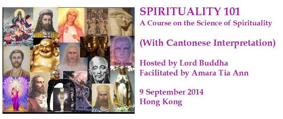 9 September : Spirituality 101, Hong Kong | ACAST Me