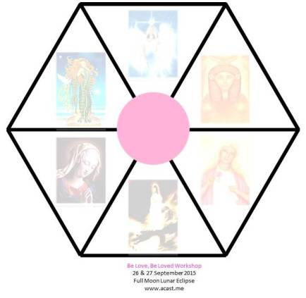 Goddess Hexagon with Title